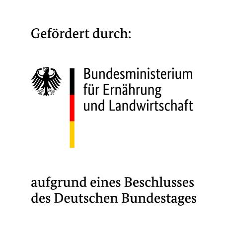 Digitale Kompetenz im ländlichen Raum Logo BMEL